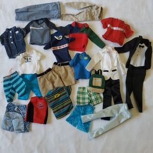 Barbie KEN Clothes Lot